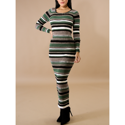 Dana Striped Dress