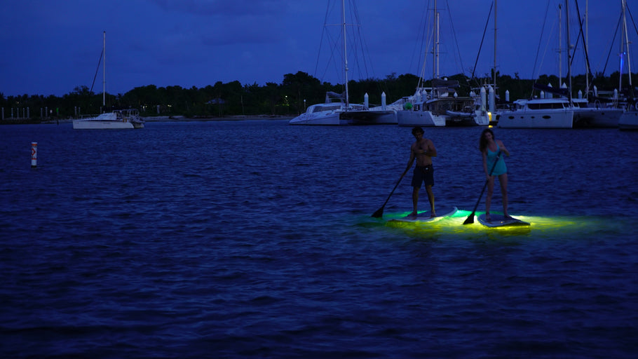 Salty Dog Full Moon Paddle - South End - Delray Beach, Florida May 29, 2018