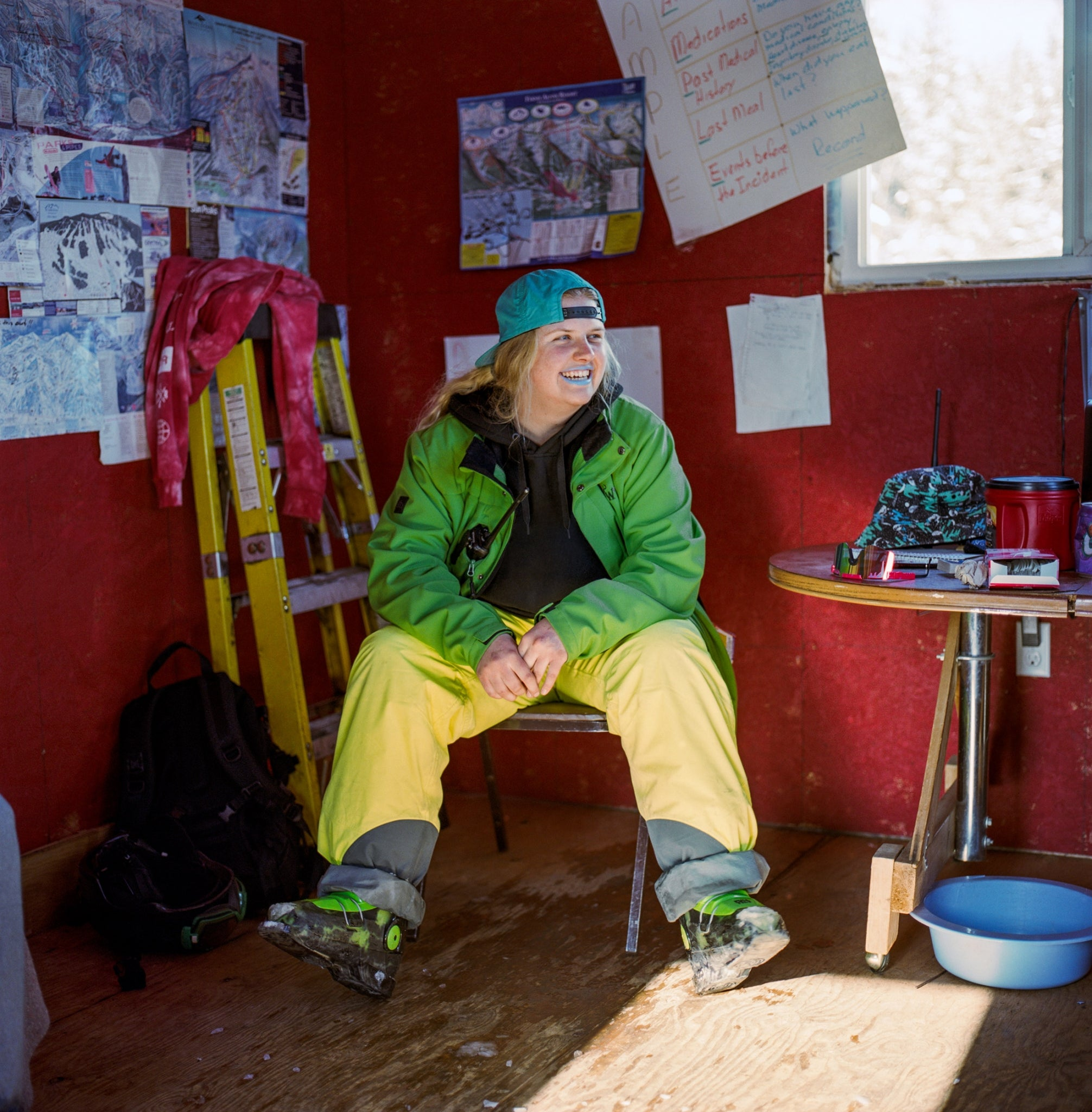 Elkford resident, head of ski patrol and ski school director at Wapiti, Abbey Peterson. Photo: Kari Medig.