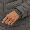 Women's Silent Down Parka - Forge Grey