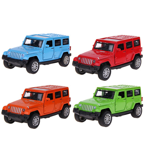 1:32 Off-road Metal Auto Model Toy for Jeep Wrangler