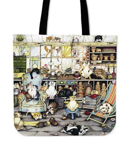 CAT LIFE TOTE BAG N95