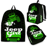 Green Jeep - Backpack