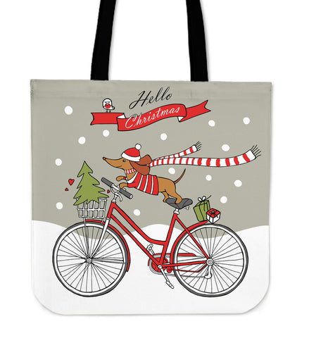 Dachshund Christmas - Tote bag N95