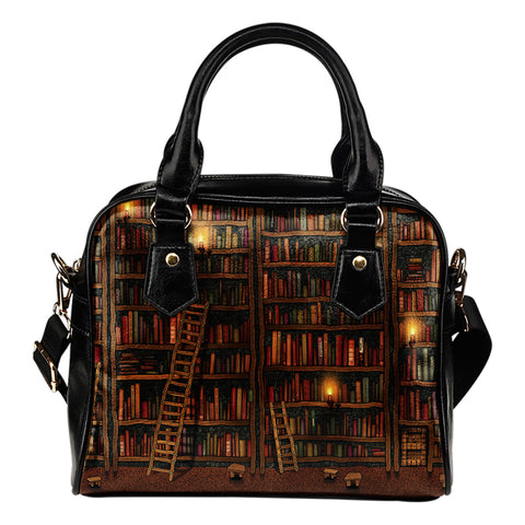 Library Shoulder Handbag