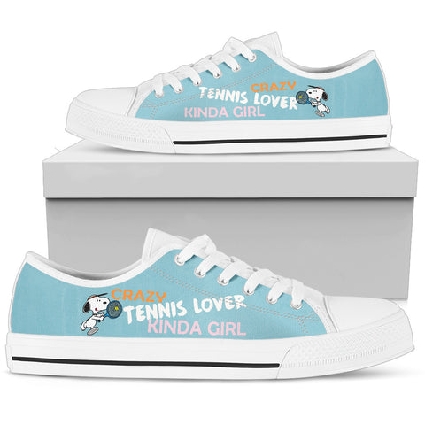 TENNIS LOVER KINDA GIRL LOWTOP SHOES