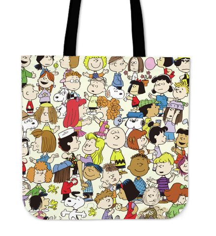 Snoopy Friends Of Library Tote Bag