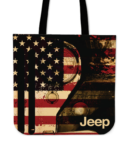 Jeep Vintage Tote Bag
