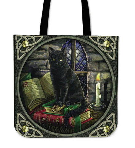 Black Cat Books - Tote Bags