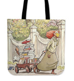 Wagon of Books - Tote Bags