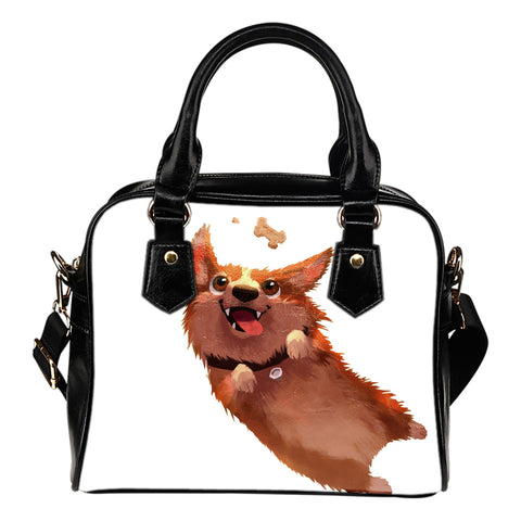 Lovely Corgi 2 - Shoulder handbag