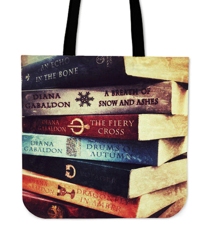 OUTLANDER BOOK SERIES TOTE BAG
