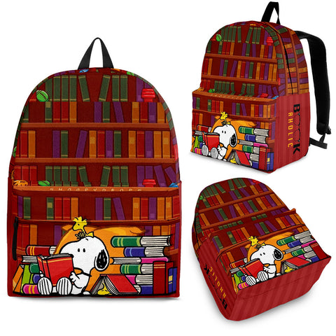 Snoopy Bookaholic Backpack