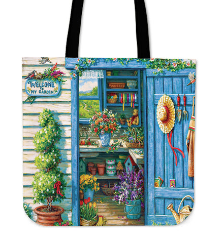 Welcome to my garden tote bag N94