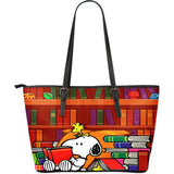 Snoopy in the library