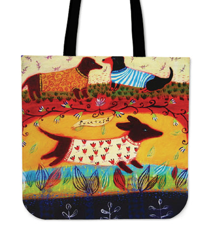 I LOVE Dachshunds Tote Bag N95