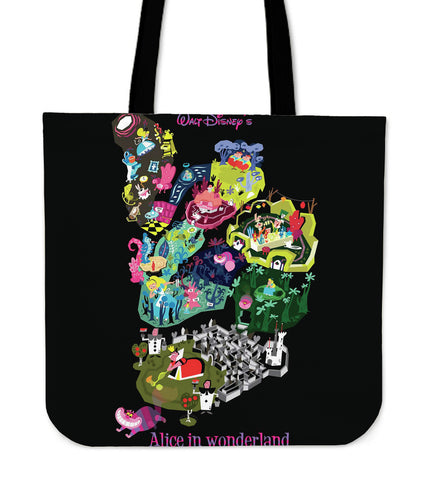 Alice in Wonderland Story TOTE Bag TN54