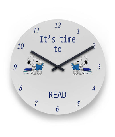 It's time to READ Round Wall Clock