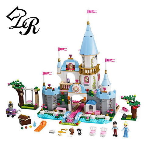 9 Styles Princess Castle Building Blocks H81