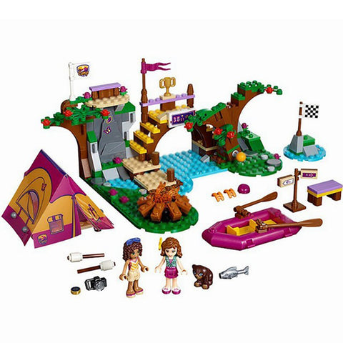 325 pcs You Go Girl Camping Lego Set H81