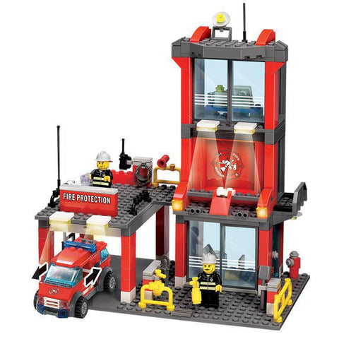 Firefighters Educational Building Block H81