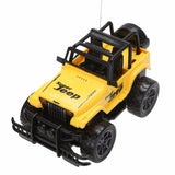 Jeep Off-road Vehicle +Headlight 4 Channels Remote Control Kids Toy