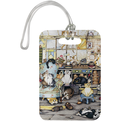 CAT LIFE - Luggage Bag Tag - N95
