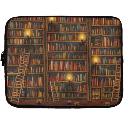 Library - Laptop Sleeve 13 inch