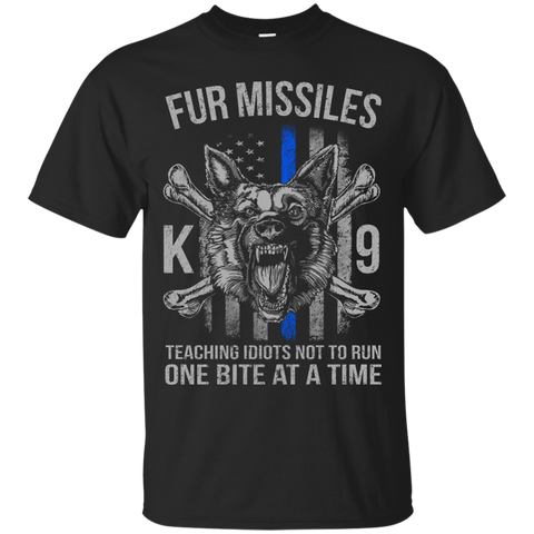 Fur Missiles K9 - Teaching Idiots Not To Run