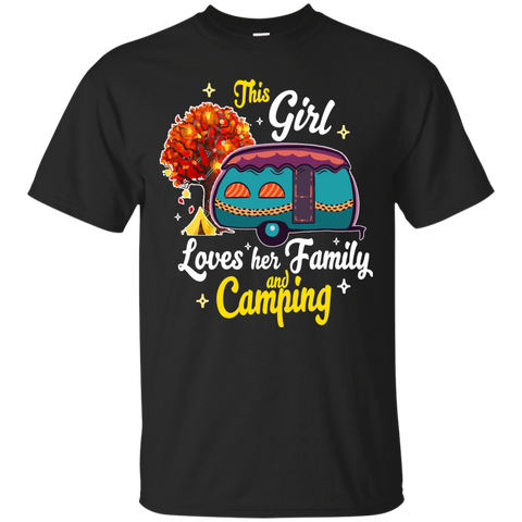 This girl loves her family and camping
