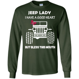 Jeep Lady - I Have A Good Heart But Bless This Mouth