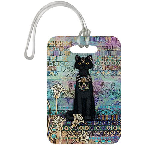 BLACK ROYAL CAT Luggage Bag Tag - N95