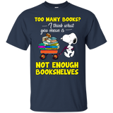 Too Many Books - Not Enough Bookshelves