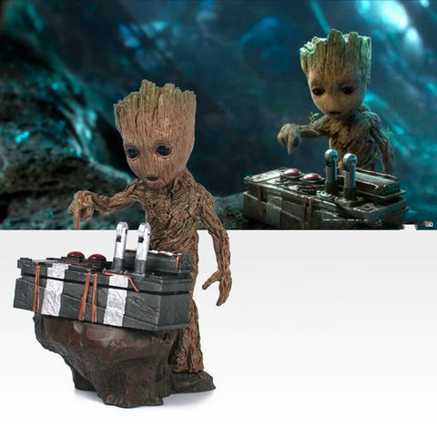 Guardians of the Galaxy 2 DJ Baby Groot Figure Collectible Model Toy 18cm