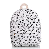 Cat Face Good Quality Denim Backpack