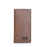 JEEP Leather Long Wallet