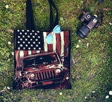 JEEP FLAG TOTE BAG