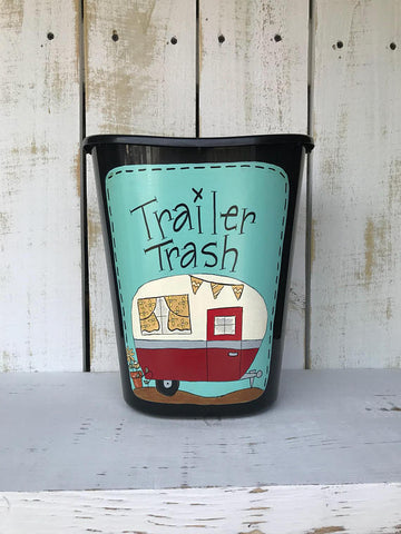 Trailer Trash Can BTT