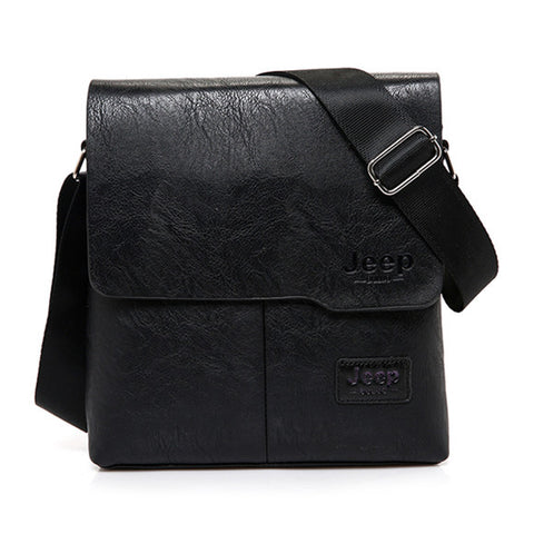 JEEP Famous Brand New Fashion Man Leather Messenger Bag