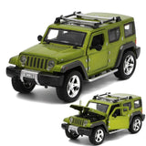 Jeep Wrangler Off-road Vehicle Car-styling Simulation Alloy Cars