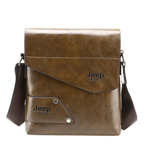 JEEP Leather Shoulder Bag