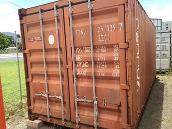20' Storage Container, As Is - Cairns, QLD HF183659