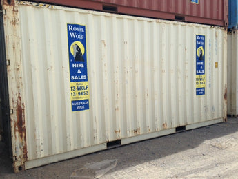 20' Storage Container High Cube, Standard  - Canberra, ACT HF013802
