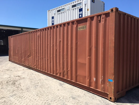 40' Storage Container, As Is - Brisbane, QLD HF107499