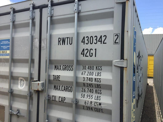 40' Storage Container, Standard - Cairns, QLD HF110600