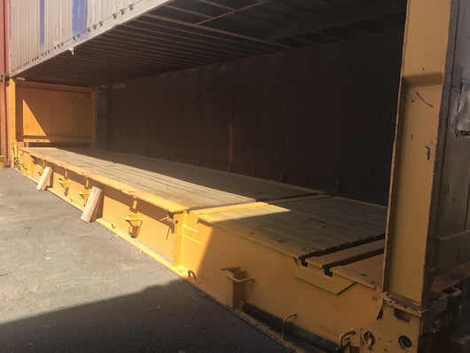 40' Flat Rack, As Is - Moorebank, NSW HF202194