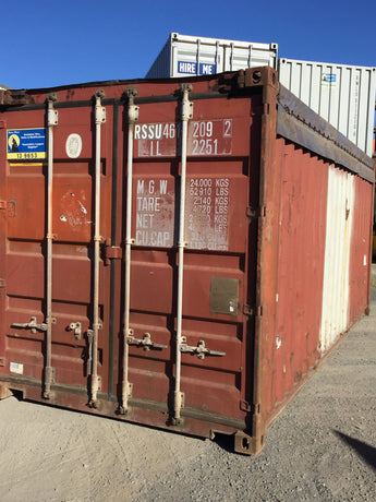 20' Open Top Container, As Is - Hobart, TAS HF145227