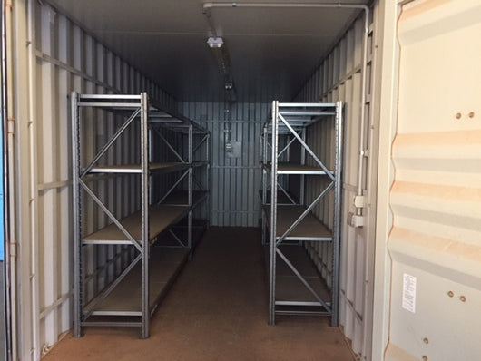 20ft High Cube Storage Container with Shelving and Lighting - Premium HF158094 - Geraldton WA