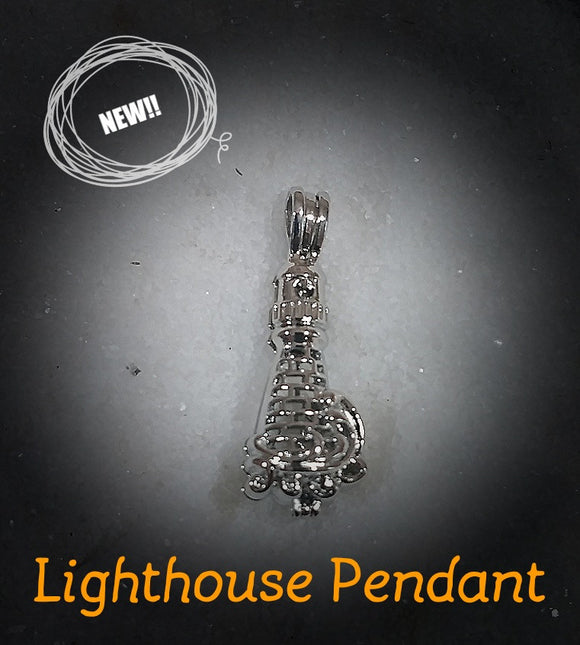 SO Pendant - Pearl Cage - Lighthouse