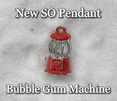 CSO Pendant - Pearl Cage - Bubble Gum Machine